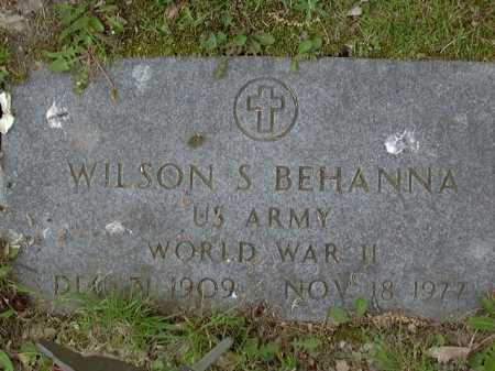 BEHANNA, WILSON - Washington County, Pennsylvania   WILSON BEHANNA - Pennsylvania Gravestone Photos