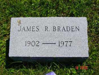 BRADEN, JAMES R. - Washington County, Pennsylvania | JAMES R. BRADEN - Pennsylvania Gravestone Photos