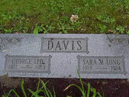 DAVIS, GEORGE - Washington County, Pennsylvania | GEORGE DAVIS - Pennsylvania Gravestone Photos