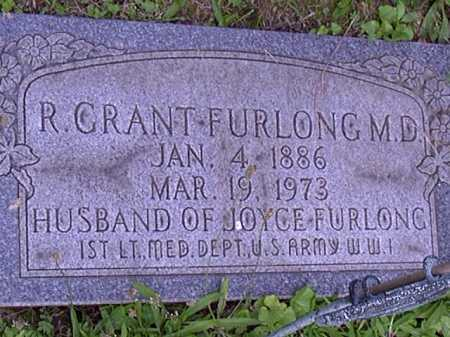 FURLONG, GRANT - Washington County, Pennsylvania | GRANT FURLONG - Pennsylvania Gravestone Photos