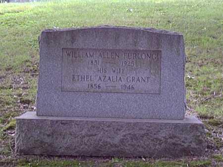 FURLONG, WILLIAM - Washington County, Pennsylvania | WILLIAM FURLONG - Pennsylvania Gravestone Photos