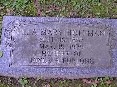 HOFFMAN, ELLA - Washington County, Pennsylvania   ELLA HOFFMAN - Pennsylvania Gravestone Photos