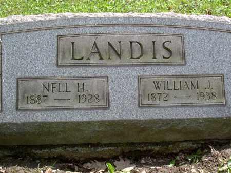 LANDIS, WILLIAM - Washington County, Pennsylvania | WILLIAM LANDIS - Pennsylvania Gravestone Photos