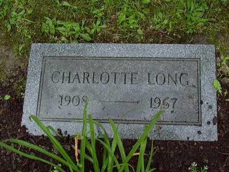 BAKER LONG, CHARLOTTE - Washington County, Pennsylvania | CHARLOTTE BAKER LONG - Pennsylvania Gravestone Photos