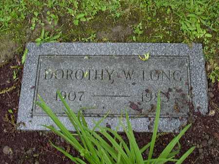 LONG, DOROTHY - Washington County, Pennsylvania   DOROTHY LONG - Pennsylvania Gravestone Photos