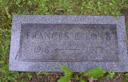 COLEMAN LONG, FRANCES - Washington County, Pennsylvania | FRANCES COLEMAN LONG - Pennsylvania Gravestone Photos