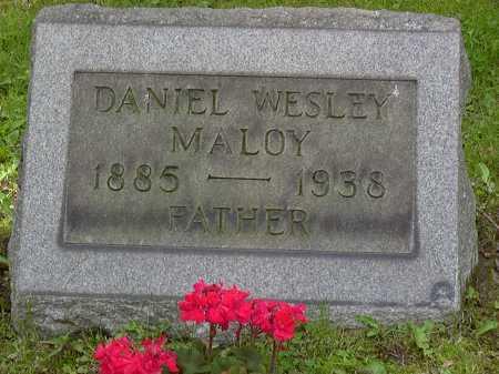 MALOY, DANIEL - Washington County, Pennsylvania   DANIEL MALOY - Pennsylvania Gravestone Photos