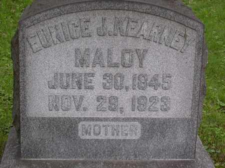 KEARNEY MALOY, EUNICE - Washington County, Pennsylvania | EUNICE KEARNEY MALOY - Pennsylvania Gravestone Photos