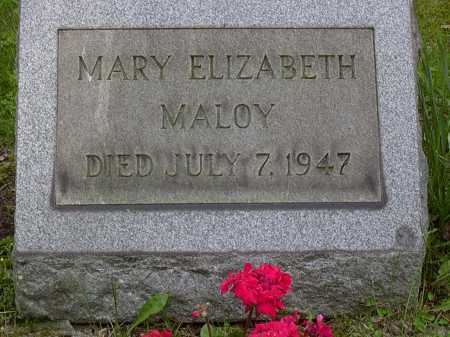 MALOY, MARY - Washington County, Pennsylvania | MARY MALOY - Pennsylvania Gravestone Photos