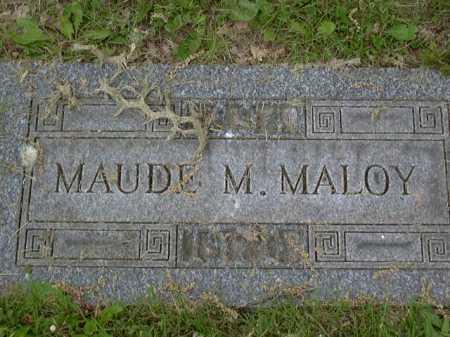 MALOY, MAUDE - Washington County, Pennsylvania | MAUDE MALOY - Pennsylvania Gravestone Photos