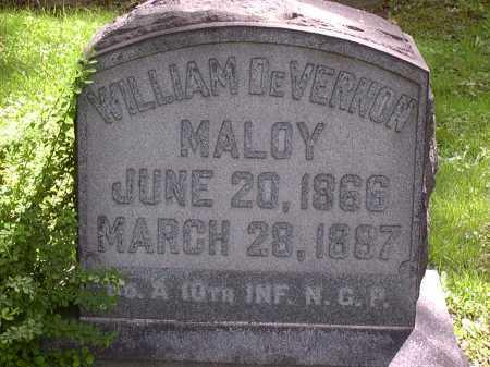 MALOY, WILLIAM - Washington County, Pennsylvania   WILLIAM MALOY - Pennsylvania Gravestone Photos