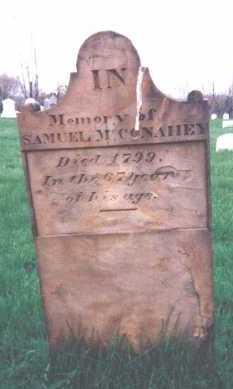 MCCONAHEY, SAMUEL - Washington County, Pennsylvania | SAMUEL MCCONAHEY - Pennsylvania Gravestone Photos