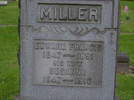 MILLER, EDWARD - Washington County, Pennsylvania | EDWARD MILLER - Pennsylvania Gravestone Photos