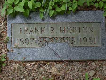 MORTON, FRANK - Washington County, Pennsylvania | FRANK MORTON - Pennsylvania Gravestone Photos