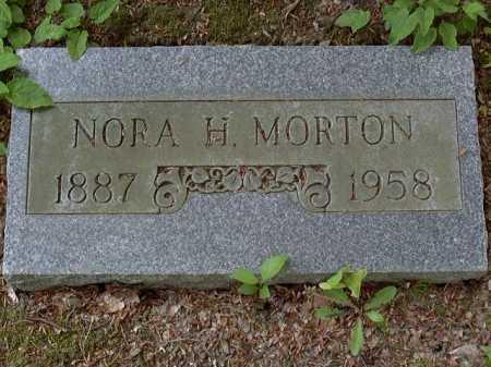 MORTON, NORA - Washington County, Pennsylvania | NORA MORTON - Pennsylvania Gravestone Photos
