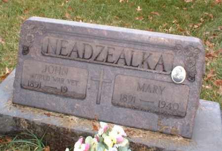 NEADZEALKA, JOHN - Washington County, Pennsylvania | JOHN NEADZEALKA - Pennsylvania Gravestone Photos