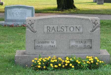 RALSTON, JOSEPH M. - Washington County, Pennsylvania | JOSEPH M. RALSTON - Pennsylvania Gravestone Photos