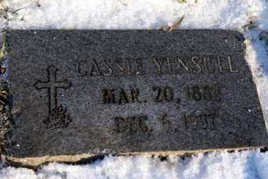 KASEROVICH YENSULL, CASSIE - Washington County, Pennsylvania | CASSIE KASEROVICH YENSULL - Pennsylvania Gravestone Photos