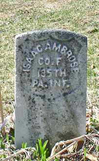 AMBROSE (CW), ISAAC - Westmoreland County, Pennsylvania | ISAAC AMBROSE (CW) - Pennsylvania Gravestone Photos