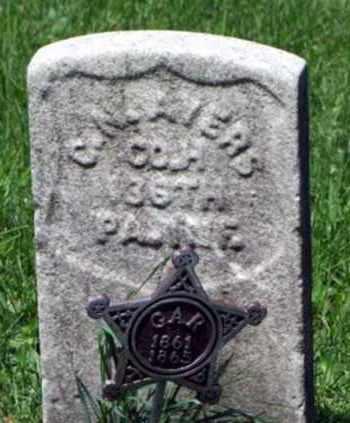 AYERS (CW), GEORGE W. - Westmoreland County, Pennsylvania | GEORGE W. AYERS (CW) - Pennsylvania Gravestone Photos