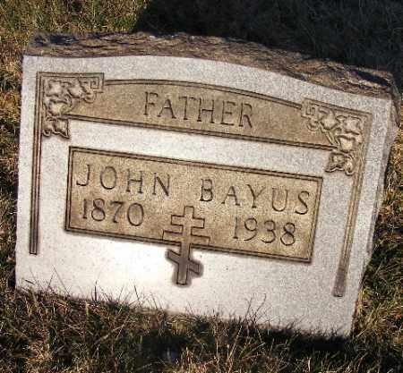 BAYUS, JOHN - Westmoreland County, Pennsylvania | JOHN BAYUS - Pennsylvania Gravestone Photos