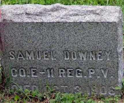 DOWNEY (CW), SAMUEL - Westmoreland County, Pennsylvania | SAMUEL DOWNEY (CW) - Pennsylvania Gravestone Photos