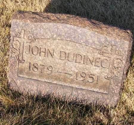 DUDINEC, JOHN - Westmoreland County, Pennsylvania | JOHN DUDINEC - Pennsylvania Gravestone Photos