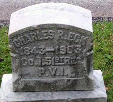 ECK (CW), CHARLES R. - Westmoreland County, Pennsylvania | CHARLES R. ECK (CW) - Pennsylvania Gravestone Photos