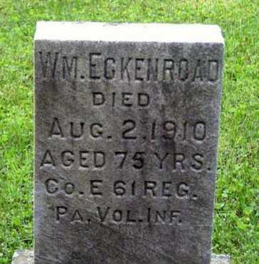 ECKENROAD (CW), WILLIAM - Westmoreland County, Pennsylvania | WILLIAM ECKENROAD (CW) - Pennsylvania Gravestone Photos