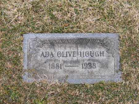 OLIVE HOUGH, ADA - Westmoreland County, Pennsylvania | ADA OLIVE HOUGH - Pennsylvania Gravestone Photos