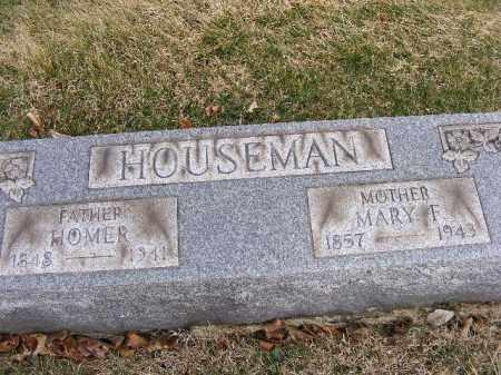 HOUSEMAN, MARY F - Westmoreland County, Pennsylvania | MARY F HOUSEMAN - Pennsylvania Gravestone Photos