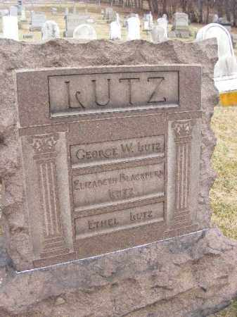 LUTZ, GEORGE - Westmoreland County, Pennsylvania | GEORGE LUTZ - Pennsylvania Gravestone Photos