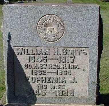 SMITH (CW), WILLIAM H. - Westmoreland County, Pennsylvania | WILLIAM H. SMITH (CW) - Pennsylvania Gravestone Photos