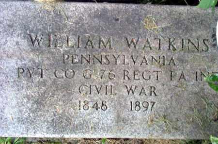 WATKINS (CW), WILLIAM - Westmoreland County, Pennsylvania | WILLIAM WATKINS (CW) - Pennsylvania Gravestone Photos