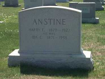 ANSTINE, HARRY E - York County, Pennsylvania | HARRY E ANSTINE - Pennsylvania Gravestone Photos