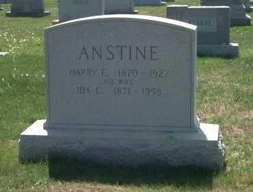 ANSTINE, HARRY E - York County, Pennsylvania | HARRY E ANSTINE - Pennsylvania Gravestone Photos