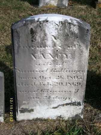 BOLLINGER, NANCY - York County, Pennsylvania   NANCY BOLLINGER - Pennsylvania Gravestone Photos