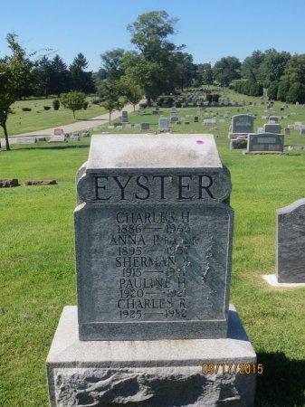 EYSTER, CHARLES R - York County, Pennsylvania | CHARLES R EYSTER - Pennsylvania Gravestone Photos