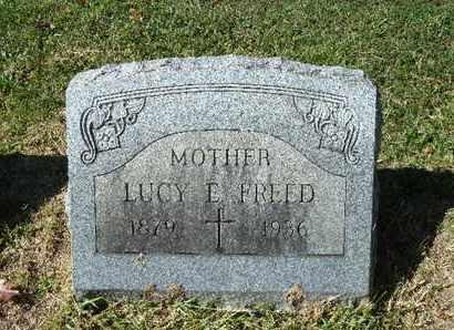 FREED, LUCY E - York County, Pennsylvania   LUCY E FREED - Pennsylvania Gravestone Photos