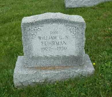 FUHRMAN, WILLIAM G.N. - York County, Pennsylvania | WILLIAM G.N. FUHRMAN - Pennsylvania Gravestone Photos