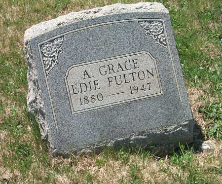 EDIE FULTON, A. GRACE - York County, Pennsylvania | A. GRACE EDIE FULTON - Pennsylvania Gravestone Photos