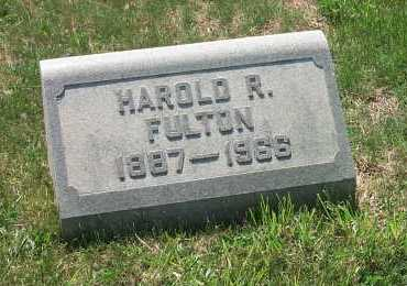 FULTON, HAROLD R - York County, Pennsylvania | HAROLD R FULTON - Pennsylvania Gravestone Photos