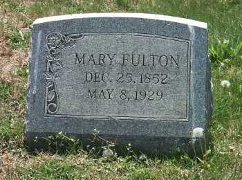 FULTON, MARY - York County, Pennsylvania | MARY FULTON - Pennsylvania Gravestone Photos