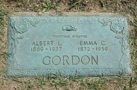 GORDON, EMMA C. - York County, Pennsylvania | EMMA C. GORDON - Pennsylvania Gravestone Photos