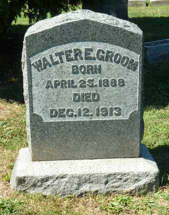 GROOM, WALTER - York County, Pennsylvania | WALTER GROOM - Pennsylvania Gravestone Photos