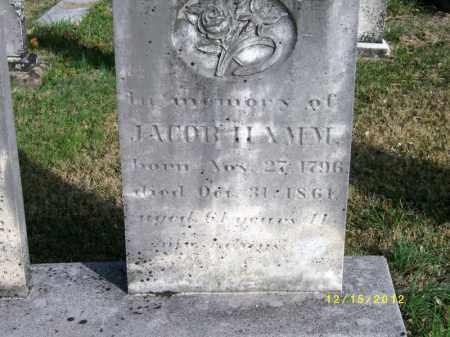 HAMM, JACOB - York County, Pennsylvania | JACOB HAMM - Pennsylvania Gravestone Photos