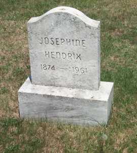 HENDRIX, JOSEPHINE - York County, Pennsylvania | JOSEPHINE HENDRIX - Pennsylvania Gravestone Photos