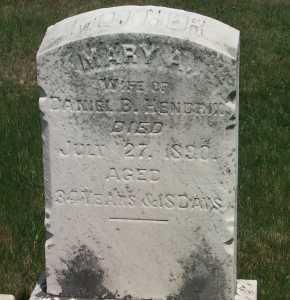 FULTON HENDRIX, MARY A - York County, Pennsylvania | MARY A FULTON HENDRIX - Pennsylvania Gravestone Photos