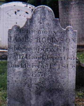 JAMES, ROBINSON - York County, Pennsylvania   ROBINSON JAMES - Pennsylvania Gravestone Photos