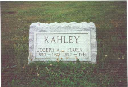 MUSSER KAHLEY, FLORA - York County, Pennsylvania | FLORA MUSSER KAHLEY - Pennsylvania Gravestone Photos